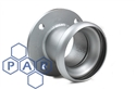 "4"" galv female bauer x 4"" table D flange"